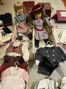 Pleasant Company Original American Girl Dolls Kirsten & Samantha + More! 1980's