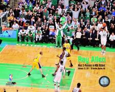 RAY ALLEN BOSTON CELTICS LICENSED 8X10 PHOTO 3-POINT NBA HISTORY