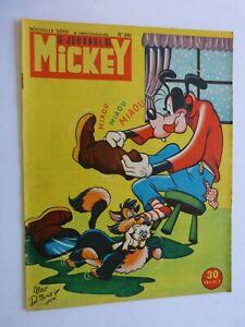 LE JOURNAL DE MICKEY N° 240 de décembre 1956 / pub NOREV