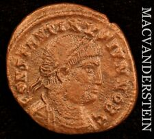 Constantine I AD337-340 AE Follis Rev Camp Gate Surrunded By 2 Turrents #Y2010