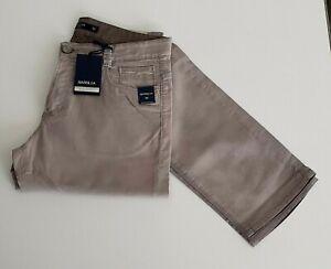 Siviglia SP01CCU Pantalone Uomo Effetto Vintage in Cotone Beige tg 32  -66 %