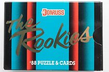 1988 Donruss THE ROOKIES & PUZZLE Factory Sealed Rookie 56 Cards Complete Box