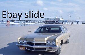 4 orig 1973 35mm slides - Daytona Beach, FL scenes