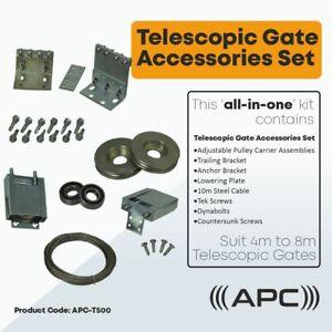 Telescopic Sliding Gate Hardware Complete Kit suit from 4m to 8m sliding gates