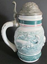 1992 Avon Lidded Stein - Endangered Species: Sperm Whale