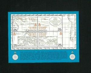 Solomon Islands 443 Souvenir Sheet. Cat.131.25 (1.75 x 75) Wholesale