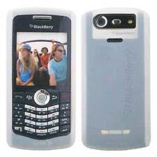 OEM NEW Blackberry PEARL White Silicon GEL Skin Case Cover for 8110 8120 8130