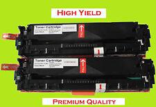 2PK Black (High Yield) Toner Cartridge for Canon 131X, Canon131A  MF8280CW