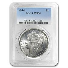 1890-S Morgan Dollar MS-64 PCGS - SKU #17159