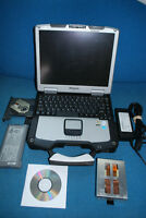 LOADED Panasonic Toughbook CF-30 - DUAL BOOT SETUP Win XP/Win 7 Pro - SSD