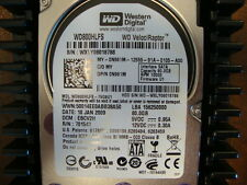 Western Digital WD800HLFS-75G6U1 DCM:EBCV2H 80gb 10000RPM Sata Hard Drive