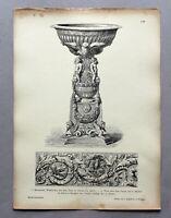 Muster-Ornamente aus allen Stilen in historischer Anordnung J. Engelhorn um 1900