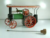 Mamod TF1A Live Steam Traction Engine - Untested Sold as is.