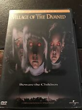 DVD - Village of the Damned (1998, Widescreen) w/ Chapter Insert RARE & OOP