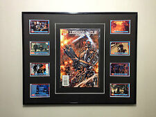 Terminator 2 rare issue #1 comic framed with collector cards