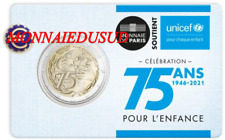 2 Euro CC Coincard BU France 2021 - 75 Ans de l'Unicef