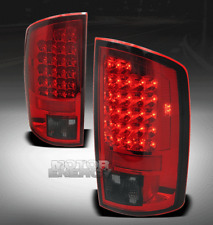 07-08 DODGE RAM 1500/07-09 2500 3500 PICKUP TRUCK LED TAIL BRAKE LIGHT RED/SMOKE