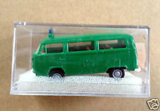 Brekina 3306 1:87 HO scale 1970's Volkswagen Kombi Polizei  - green