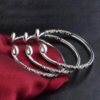 Bracelet Hoop Sculpture Jewelry Bangle Cuff Women Fashion