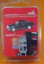 Herpa 012409 005 MiniKit Mercedes Benz 190 E schwarz Scale 1 87 NEU OVP