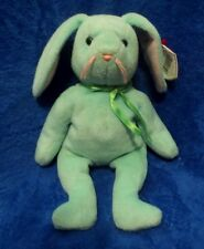Ty Beanie Baby Hippity the Green Bunny Rabbit 4th Generation Hang Tag 3rd Gen TT