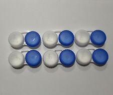 Bausch + Lomb Contact Lens Storage Case - Blue + Clear - 6 Cases Bulk - 6PK