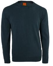 Unifarbene HUGO BOSS Herren-Pullover & -Strickware aus Baumwolle