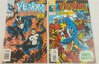 Venom Funeral Pyre #1 & #3 The Mace Marvel 1993 Series Punisher Comic Book LOT