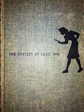 Nancy Drew THE MYSTERY AT LILAC INN Carolyn Keene HTF MYSTERY NOVEL MYSTERY 1930