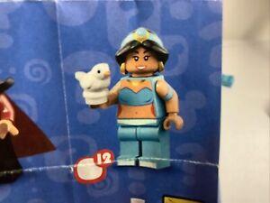 Lego Minifigures Disney Series 2 Jasmine (12) Unbuilt Collectable Mini Figure
