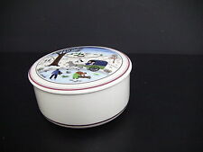 Villeroy & Boch Design Naif Christmas Porcelain Candy Box