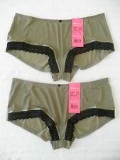 lot de 2 culottes/shorty femme BILLET DOUX taille 38/40 vert