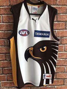 Afl Tasmania Hawks Football Shirt Pit 2 Pit 19in Size Medium
