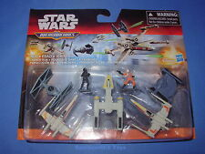 Star Wars Trench Run The Force Awakens Micro Machines Deluxe Vehicle Pack MIB