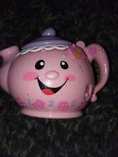 Fisher Price Laugh & Learn Singing Musical Pink Teapot Toddler Toy