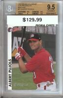 Albert Pujols 2000 Midwest League Bgs 9.5 Gem Mint