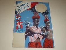 [DESSIN PRESSE BD] MARCEL THIERRY JdVoyages GOUACHE ORIGINAL Danse Côte d'Ivoire
