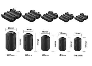 5St. Ferritkern Klappferrit Ferrit Filter Mantel Strom Ferrite Kern Entstörung