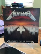 METALLICA Master Of Puppets Elektra 60439 vinyl Record Album