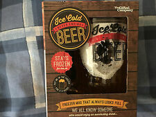 Ice cold  never ending  freezer joke  beer mug that always looks full