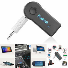 Wireless Bluetooth Receiver 3.5mm AUX Audio Stereo Music Car kit Adapter Mic
