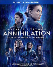 ANNIHILATION - [BLU-RAY/DVD COMBO PACK] - NEW UNOPENED - NATALIE PORTMAN