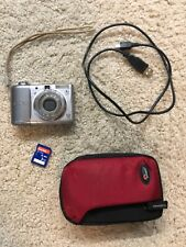Canon PowerShot A1100 IS Digital Camera 12.1MP 4x OZ~Bundle~SD Card~Cable~Case