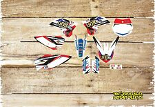 KTM SX 50 65 Graphics Kit Sticker Kit Decals Red White Black KTM