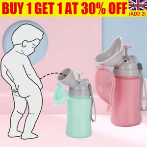 Baby Kids Portable Urinal Travel Training Toilet Car Vehicular Potty On the Go