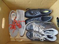 Herren-Sommer Schuh Paket für Verkäufer -6 Paar im SET- Größe 43 / HSU-43-012