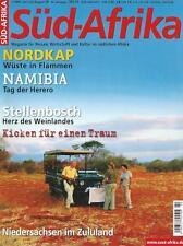Zeitschrift Magazin Süd-Afrika 2/2009 Niedersachsen Zululand Hermannsburg TOP!
