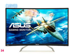 Monitor Curved Ultra slim monitor ASUS 32 PC widescreen HD gaming TV 32inch ASUS