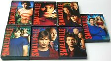 Smallville Tv Show Complete Seasons 1 2 3 4 5 6 7 Dvd Set Lot Tested Superman