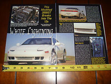 MITSUBISHI 3000GT VR-4 - ORIGINAL 1995 ARTICLE